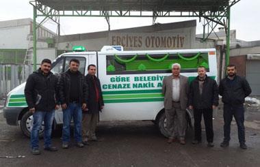 Nevşehir Merkez Göre Belediyesine Cenaze Nakil Aracı