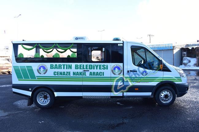 Bartın Belediyesi'ne Cenaze Nakil Aracı Verilmiştir