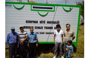 Afyonkarahisar Şuhut Uzunpınar Köyüne Cenaze Yıkama Römorku Teslim Edilmiştir