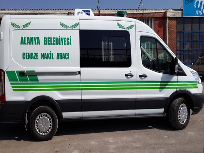 Antalya/ Alanya Belediye Başkanlığı Mezarlık Müdürlüğüne Cenaze Nakil Aracı