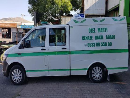 Aydın Özel Martı Cenaze Hizmetleri'ne Cenaze Nakil Aracı