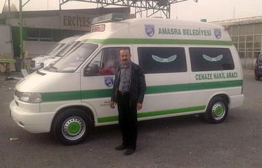 Bartın Amasra Belediyesine Caneze Nakil Aracı
