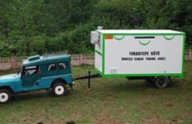 Köye Tam Donanımlı Cenaze Yıkama Aracı