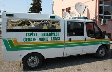 Cenaze Nakil ve Morg Aracı Alındı