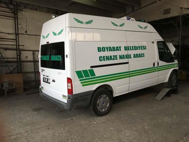 Sinop / Boyabat Belediyesine Cenaze Nakil Aracı