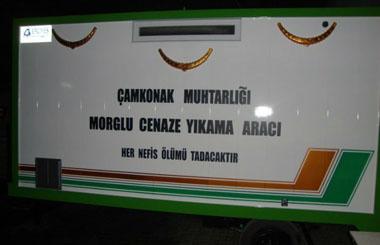Sakarya Kocaali Çamkonak Köyüne Cenaze Yıkama Aracı
