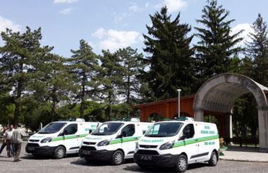 Kayseri Büyükşehir Belediyesine 3 Adet Cenaze Nakil Aracı