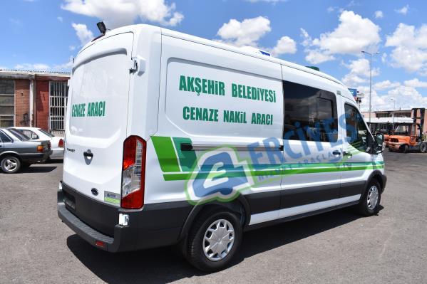 Konya Akşehir Belediyesi'ne Cenaze Nakil Aracı Verilmiştir