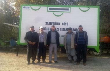 Mersin Mut Sarıveliler Köyüne Cenaze Yıkama Römorku Teslim Edildi