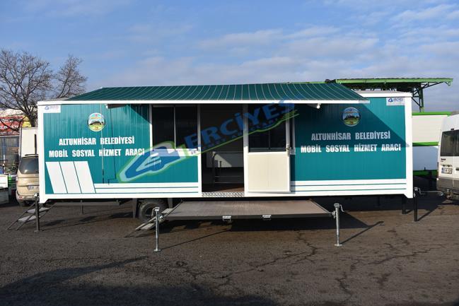 Niğde Altunhisar Belediyesi'ne Sosyal Hizmet Aracı Verilmiştir