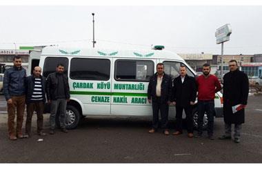 Nevşehir Merkez Çardak Köyüne İki Cenaze Kapasiteli Cenaze Nakil Aracı