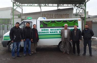 Nevşehir Merkez Göre Belediyesine Merasim Tipi İki Cenaze Kapasiteli Cenaze Nakil Aracı
