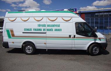 Osmaniye İli Tüysüz Belediyesine Cenaze Yıkama ve Nakil Aracı