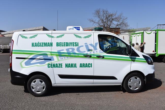 Kars Kağızman Belediyesi'ne Cenaze Nakil Aracı Verilmiştir