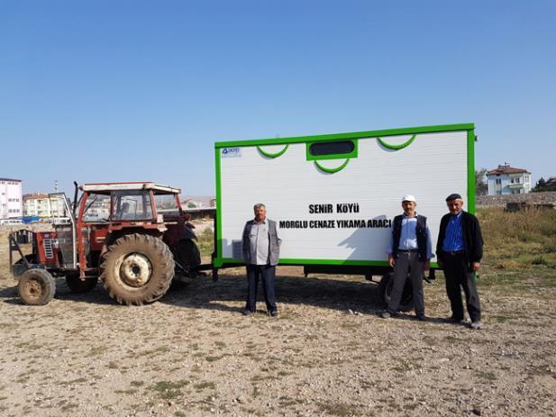 Afyon / Şuhut Güneytepe ve Senir Köyleri'ne Morglu Cenaze Yıkama Aracı
