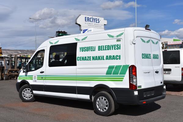 Artvin Yusufeli Belediyesi'ne Cenaze Nakil Aracı Verilmiştir