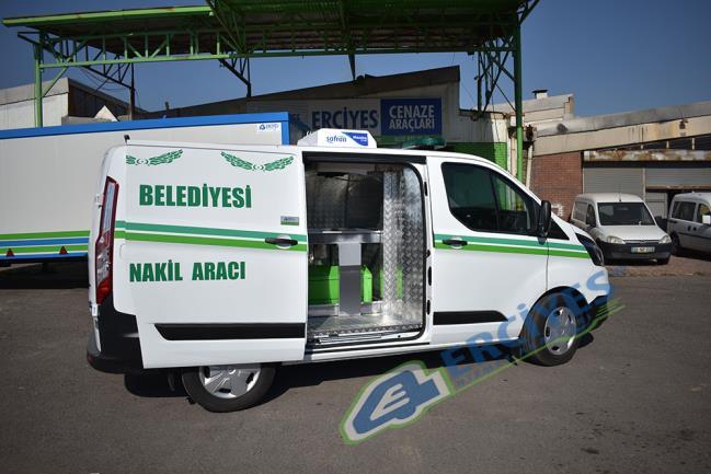 Aydın Karpuzlu Belediyesi'ne Cenaze Nakil Aracı Verilmişir