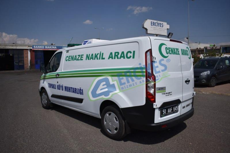 Nevşehir Topaklı Köyü'ne Cenaze Nakil Aracı Verilmiştir