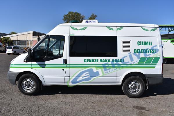 Düzce Çilimli Belediyesi'ne Cenaze Nakil Aracı Verilmiştir