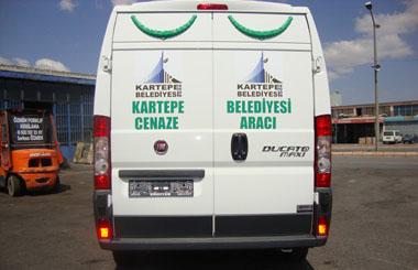 Kartepe Belediyesi Panelvan Yıkama ve Nakil Aracı