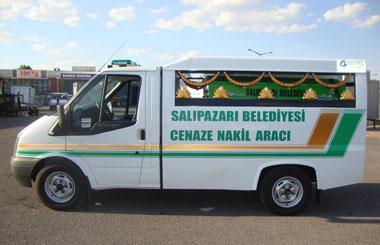 Samsun Büyükşehir Belediyesine Panelvan Yıkama ve Nakil Aracı