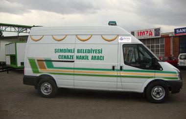 Hakkari'nin Şemdinli Belediyesine Panelvan Nakil Aracı