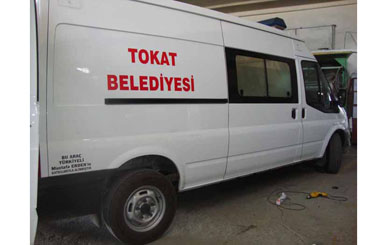 Tokat Belediyesi'ne Panelvan Nakil Aracı