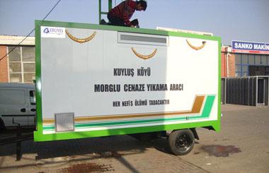 Kastamonu Kuyluş Köyü Morglu Cenaze Yıkama Aracı