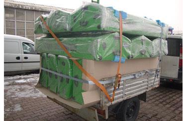 Talas Belediyesine 10 Adet Aluminyum Sal Tabut Teslim edilmiştir