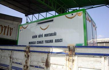 Sinop İli Kerim Köyü Muhtarlığına Cenaze Yıkama Aracı