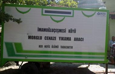 Kırıkkale Sulakyurt İmamoğluçeşmesi Köyüne Cenaze Yıkama Römorku Teslim Edildi