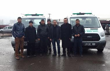 Elazığ Belediyesine Üç Adet Merasim Tipi Cenaze Nakil Aracı Teslim Edilmiştir