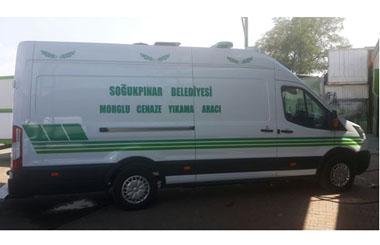 Giresun Espiye Soğukpınar Belediyesi Panelvan Cenaze Yıkama Aracı