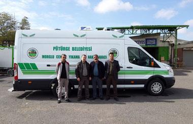 Malatya Pütürge Belediyesine Panel Van Cenaze Yıkama Aracı