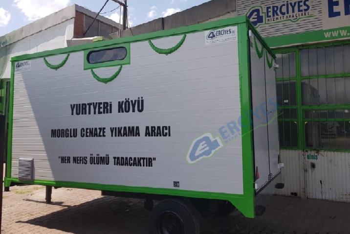 Nevşehir Yurtyeri Köyü'ne Cenaze Yıkama Römorku Verilmiştir
