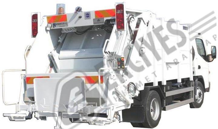 Çöp Sıkıştırma Araçları Hidrolikli 1
