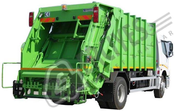 Çöp Sıkıştırma Araçları Hidrolikli 2