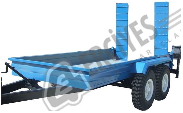 Forklift Römorku 1