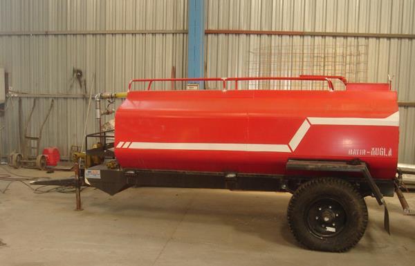 Yangın Römorklu Su Tankı 1