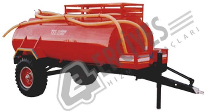 Yangın Römorklu Su Tankı 4