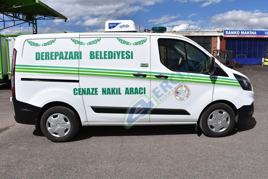 Panelvan Cenaze Nakil Aracı 1